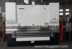 4000mm High Speed sheet plate 4mm thickness 2 AXIS hydraulic press brake