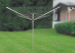 4 arms paralle outdoor aluminium clothes airer