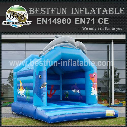 Bounce house castle include blower