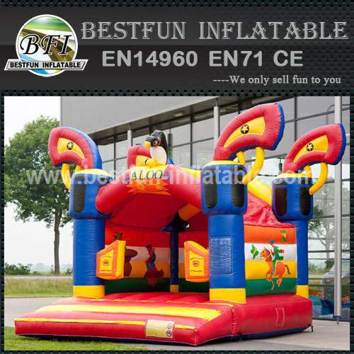 Bounce house for children's party