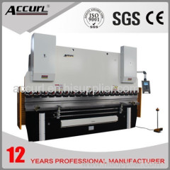 8mm thickness 2500mm length steel sheet plate hydraulic bending machine 160T
