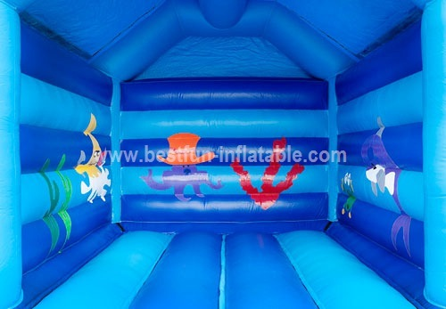 Bouncy castle Dauphin house