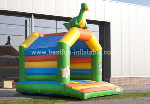 Bouncy castle Dino theme