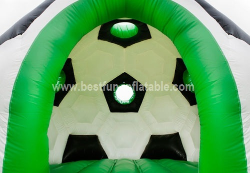 Bouncy castle football sport