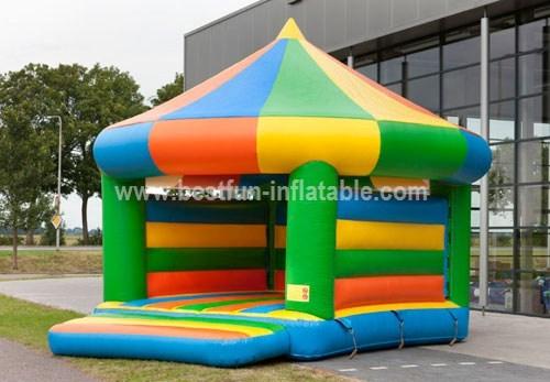 Bouncy castle green carousel