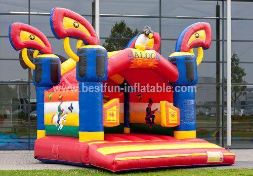 Bouncy castle Saloon ball