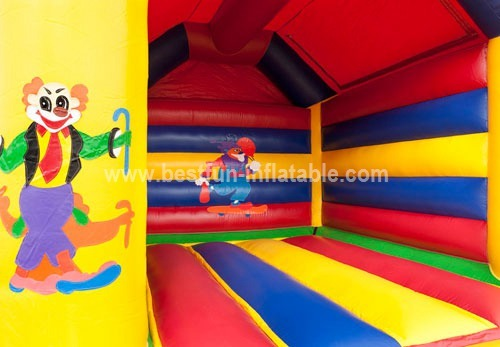Cirque bouncy castle for kids