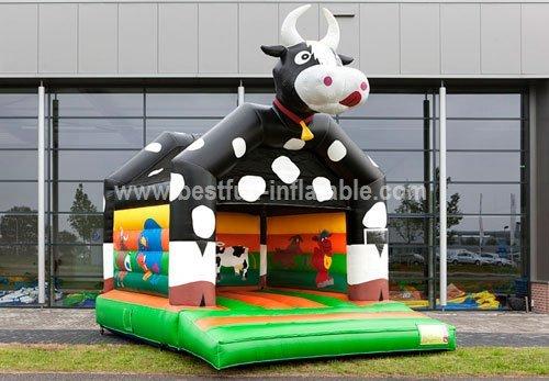 Farm Cow bouncy castle