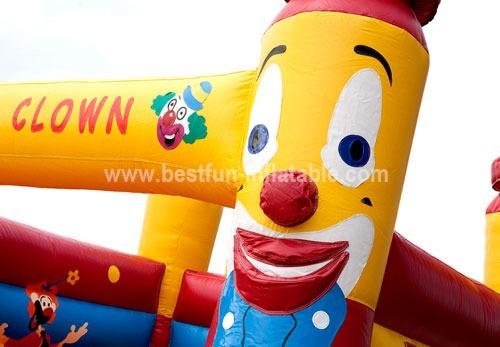 Happy Clown Bouncy Castle