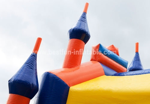 Inflatable jumping Castle multicolor
