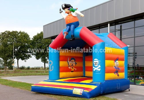Pirate bouncy castle playground