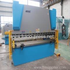 16mm thickness 2500mm length steel sheet plate hydraulic bending machine 250T