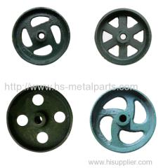 Animal ox cast plough wheel plow wheel