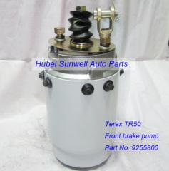 Terex truck parts TR50 Front brake pump 9255800