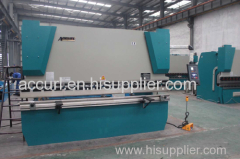 6mm thickness 2500mm length steel sheet plate hydraulic bending machine 125T