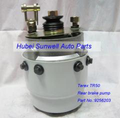 Terex truck parts Texer TR50 rear brake pump 9256203