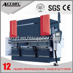 4000mm length 250tons pressure hydraulic bending machine