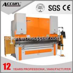 2500mm length 100tons pressure hydraulic bending machine