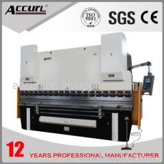 11mm thick 3200 length E21 NC hydraulic bending machine 300 Tons