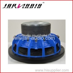 car audio/pro subwoofer with blue frame