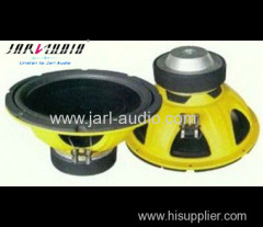 12inch car audio/car subwoofer with yellow frame