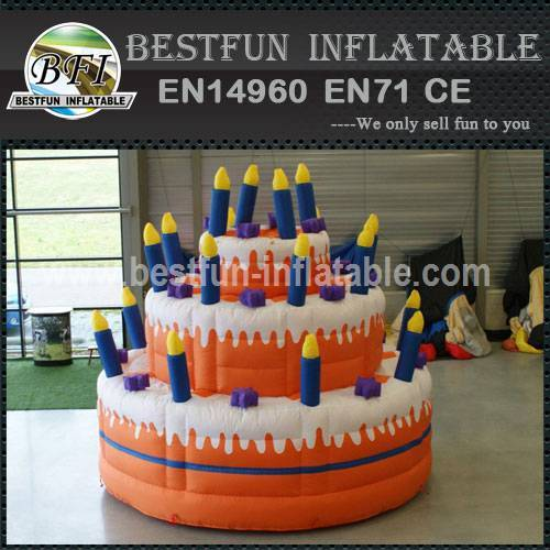 Active cake inflatable model
