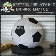 New design inflatable football model