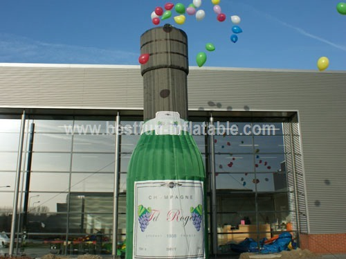 Champagne lacher inflatable balloons