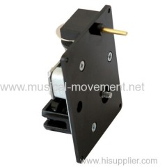 VERTICAL MOVEMENT BELOW 18 NOTE WIND UP MUSIC BOX MECHANISM