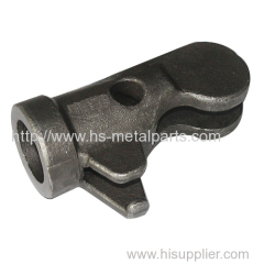 Forklift casting chain anchor