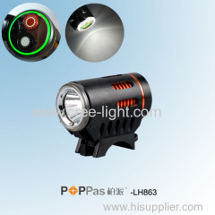 New Design Multi Function CREE XM-L L2 Aluminum LED Bicycle Light POPPAS-LH863