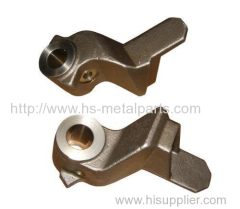 Investment casting railway couplings
