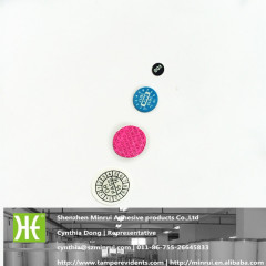 self adhesive round void sticker securty label