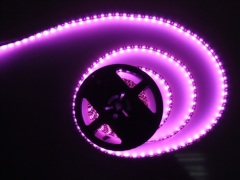 Pink 5050 LED strip lights 12V