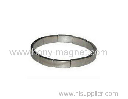 Rare earth curved neodymium magnet