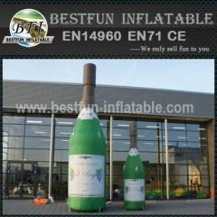 Inflatable bottle model for sale