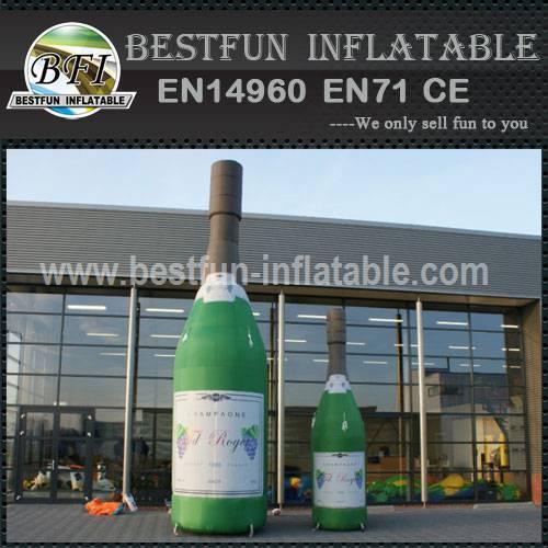 Inflatable bottle model for sale