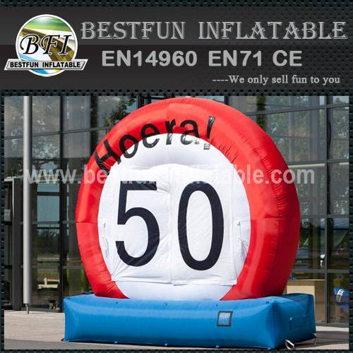 Advertisement inflatable pvc model