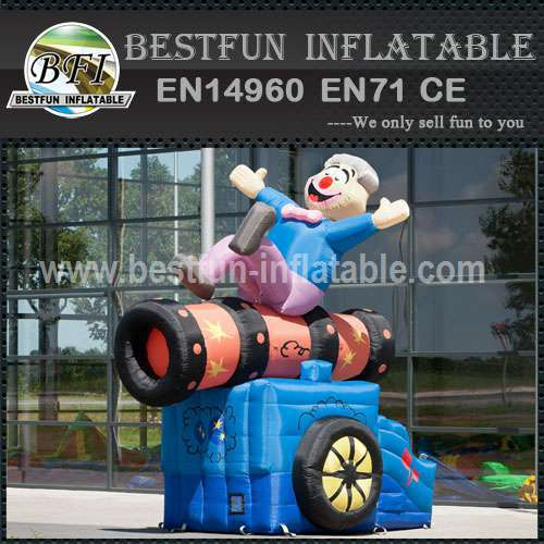 Adverting inflatable model cartoon