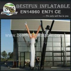 Skydancer inflatable wedding couple