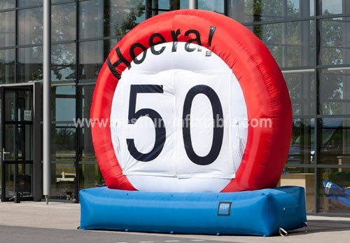 Inflatable Advertising Road Sign