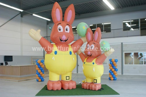 Inflatable Easter Bunny Model