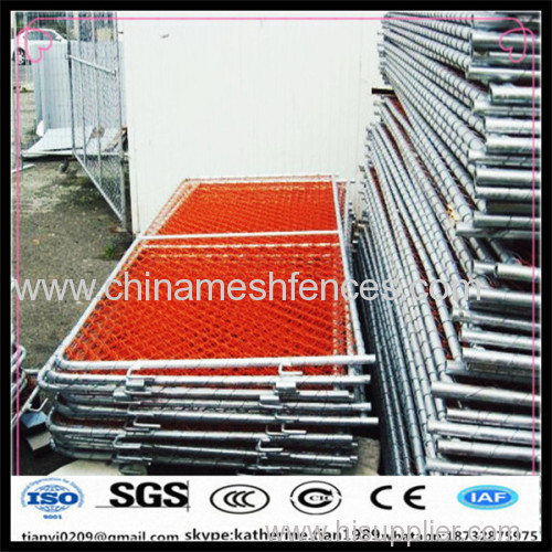 decorative chain link removable fence barrier manufacturer