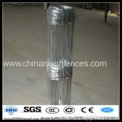 top and bottom wire 2.5mm field fence with low price