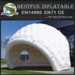 Inflatable pop up tent