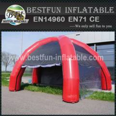 Inflatable 4 legs tent