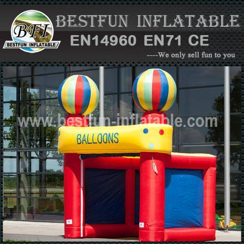 Inflatables party tent play