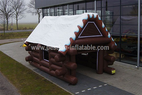 Chalet Inflatable snow house