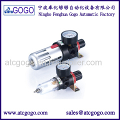 Airtac type pneumatic air filter pressure regulator with pressure guage iron BFR3000