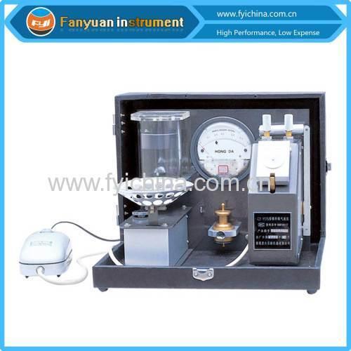 cotton fineness tester (MICRONAIRE METER)